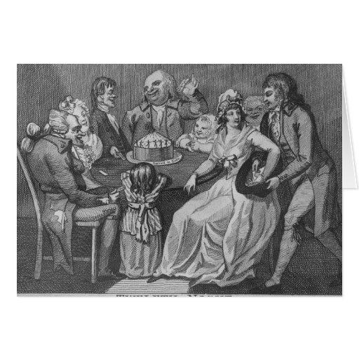 Twelfth Night, 1794 Card