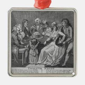 Twelfth Night, 1794 Christmas Ornament