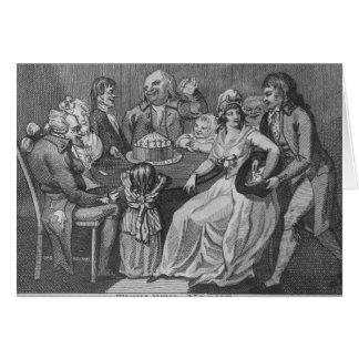 Twelfth Night, 1794 Greeting Card