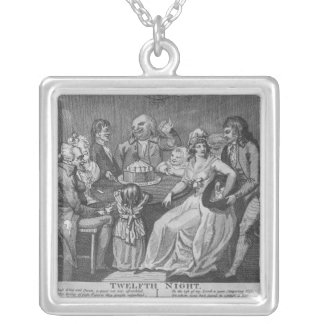 Twelfth Night, 1794 Silver Plated Necklace