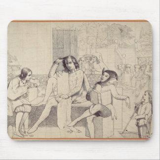Twelfth Night, c.1850 Mouse Mat