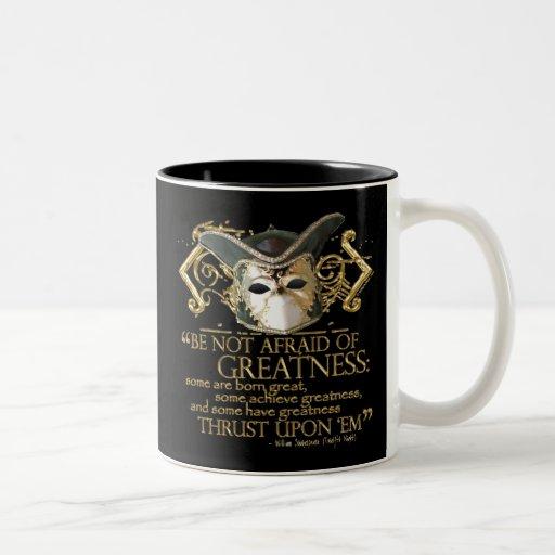 Twelfth Night Quote (Gold Version) Mug