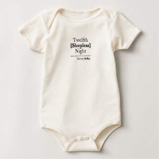 Twelfth Sleepless Night Baby Bodysuit