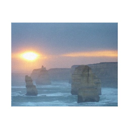 Twelve Apostles Gallery Wrapped Canvas