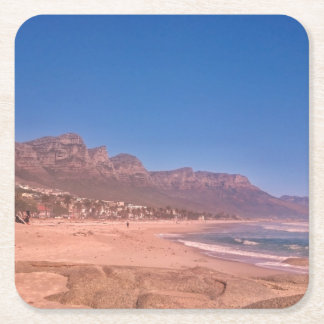 Twelve Apostles Cape Town View Paper Coaster