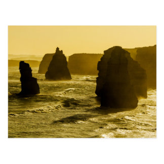 Twelve Apostles on the Great Ocean Road Postcard