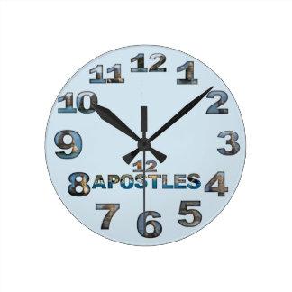 Twelve Apostles Round Wall Clock