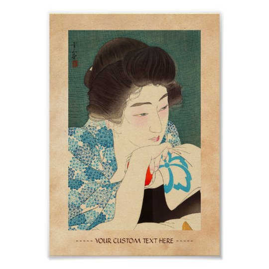 Twelve Aspects of Women, Morning Hair Torii Kotond Poster