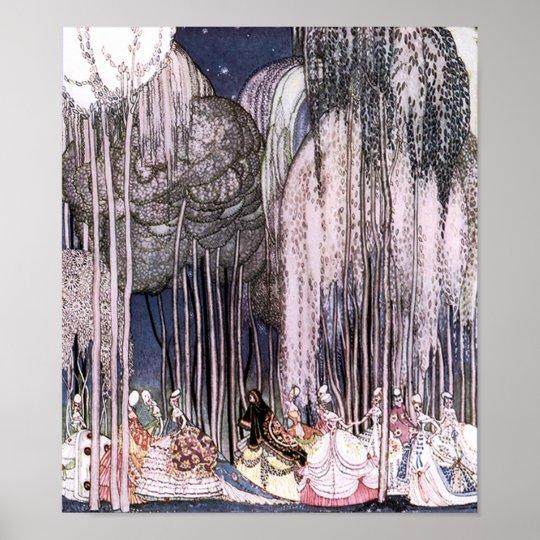 Twelve Dancing Princesses Kay Nielsen Fine Art Poster