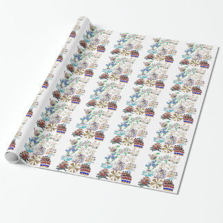 Twelve Days of Christmas giftwrap Wrapping Paper