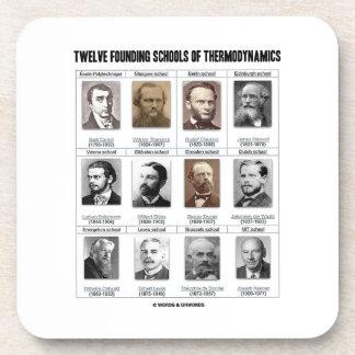 Twelve Founding Schools Of Thermodynamics Coaster