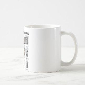 Twelve Founding Schools Of Thermodynamics Coffee Mugs