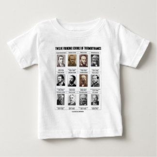 Twelve Founding Schools Of Thermodynamics T Shirts