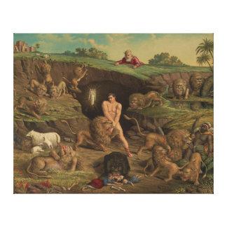 Twelve Temptations Daniel in the Lions' Den (1877) Canvas Print