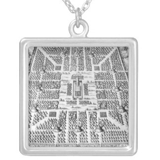 Twelve tribes of Israel Silver Plated Necklace