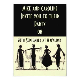 Twenties Flapper Party Invitation
