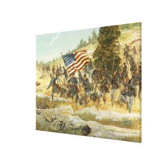 Twentieth Maine by H. Charles McBarron Print Canvas Prints