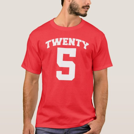 TWENTY 5 Milestone BIRTHDAY Tee