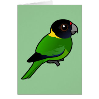 Twenty-eight Parrot Greeting Card