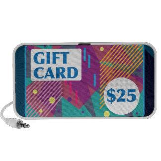 Twenty Five dollar gift card Vector Speaker System