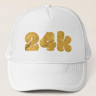 Twenty Four Karat Gold Trucker Hat