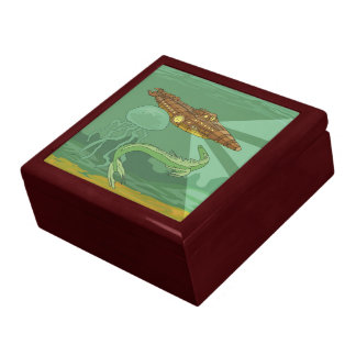 Twenty Thousand Leagues Under the Sea-Jules Verne Large Square Gift Box