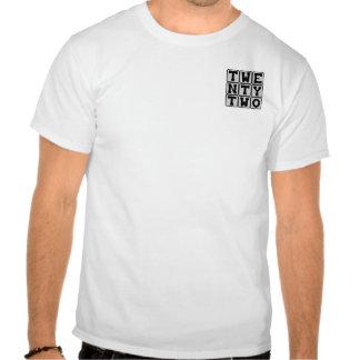 Twenty Two Number 22 Tshirt
