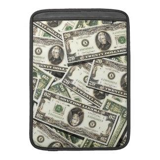 Twenty US Dollar Bills MacBook Air Sleeves