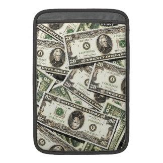 Twenty US Dollar Bills Sleeves For MacBook Air