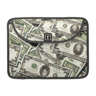 Twenty US Dollar Bills MacBook Pro Sleeve