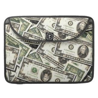 Twenty US Dollar Bills MacBook Pro Sleeves