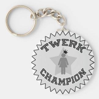 Twerk Champion Key Ring