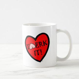 Twerk It! Basic White Mug