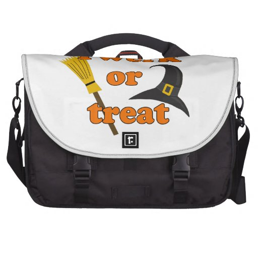 Twerk or treat - Halloween funny design Laptop Bag
