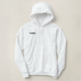TWERK RC Women's Embroidered Hoodie
