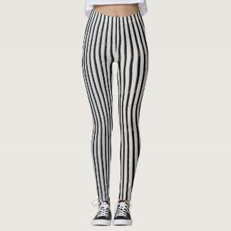 Twerking lines B&W Leggings