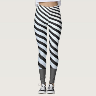 Twerking lines leggings