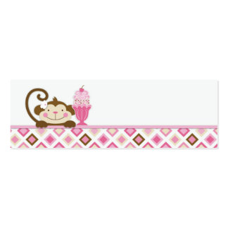 Twice the Fun GIRLS Skinny Gift Tag 3 Pack Of Skinny Business Cards