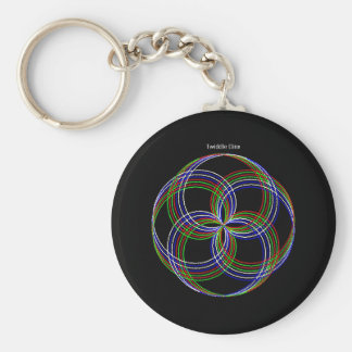 """Twiddle #106 - 2.25"""" Round Button Keychain"""