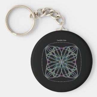 """Twiddle #111 - 2.25"""" Round Button Keychain"""