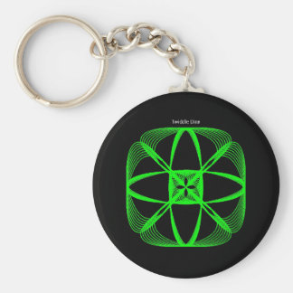 """Twiddle #128 - 2.25"""" Round Button Keychain"""