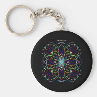 """Twiddle #129 - 2.25"""" Round Button Keychain"""