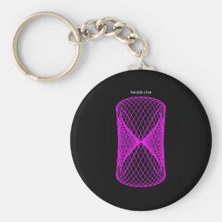 """Twiddle #135 - 2.25"""" Round Button Keychain"""
