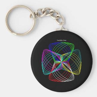 """Twiddle #14 - 2.25"""" Round Button Keychain"""