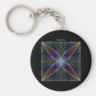 """Twiddle #21 - 2.25"""" Round Button Keychain"""