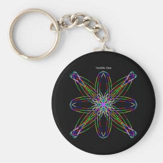 """Twiddle #2 - 2.25"""" Round Button Keychain"""