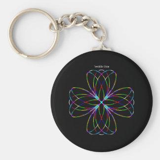 """Twiddle #43 - 2.25"""" Round Button Keychain"""