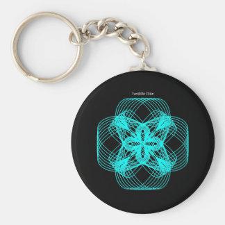 """Twiddle #80 - 2.25"""" Round Button Keychain"""
