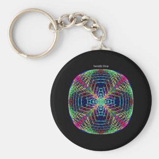 """Twiddle #91 - 2.25"""" Round Button Keychain"""
