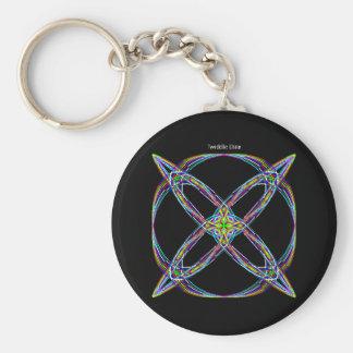 """Twiddle #97 - 2.25"""" Round Button Keychain"""